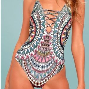 Billabong Dreamer One-Piece Swimsuit Large